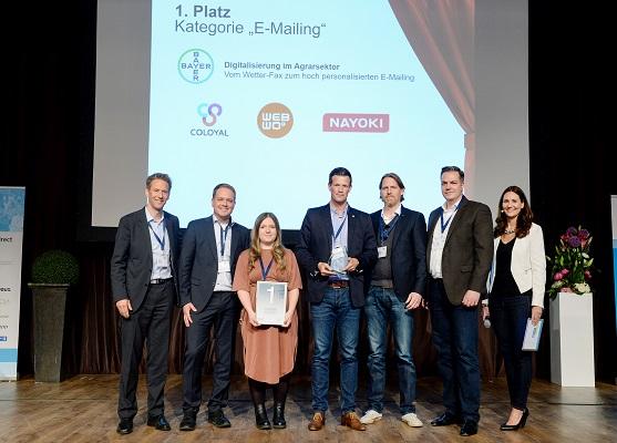 Gold für Bayer CropScience Deutschland und  nayoki aus München
