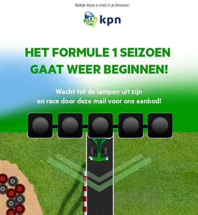 Ready, set, go: Wie KPN mit interaktiven E-Mails beschleunigt